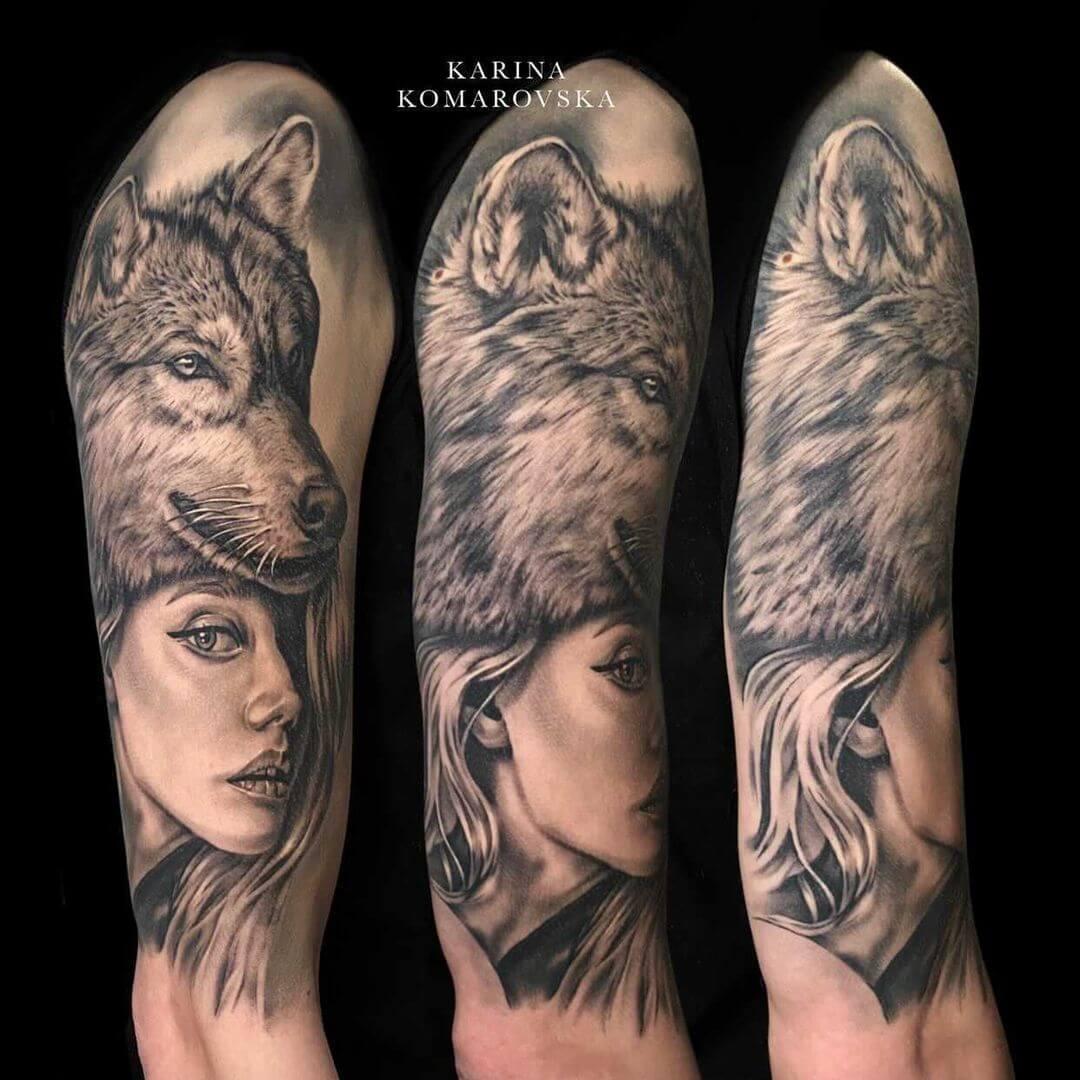 Karina Komarovska @karinako_tattoo