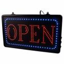 Segnale LED da Studio 'Open' con Catena Presa EU