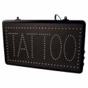 Segnale LED da Studio Tatuaggi con Catena
