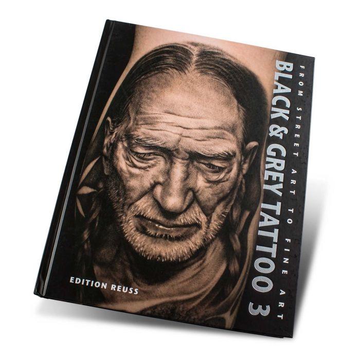 Libro Black & Grey Tattoo: 3 - Edition Reuss