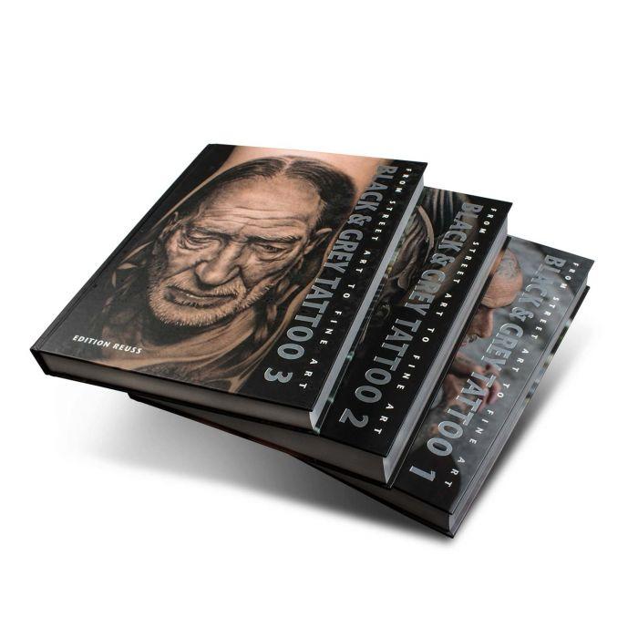 Libro Black & Grey Tattoo: 1-3 Volume Set - Edition Reuss
