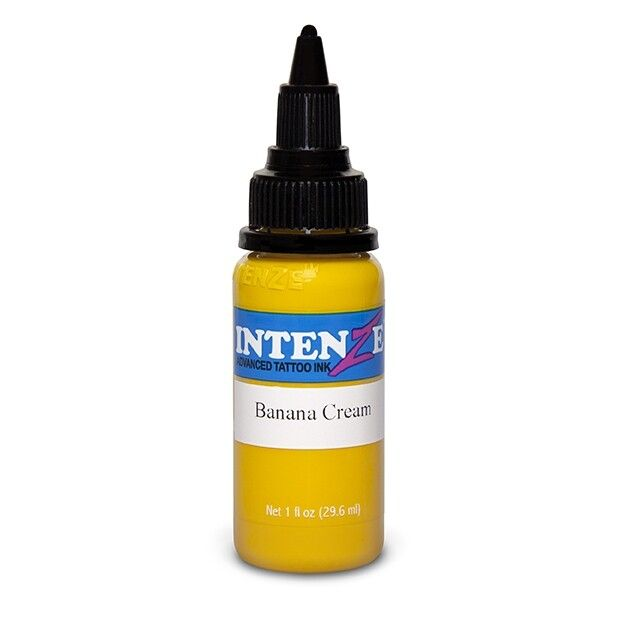 Inchiostro per Tatuaggi Intenze Ink Pastel Banana Cream 30ml (1oz)