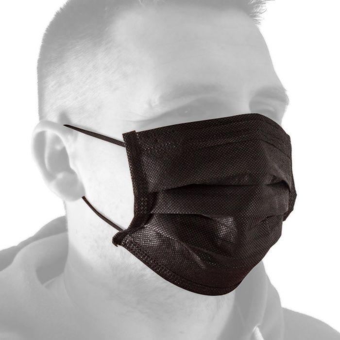 Scatola da 50 maschere facciali Killer Ink Black Line