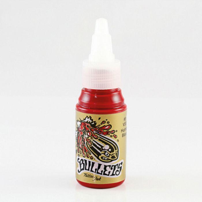 Inchiostro per Tatuaggi Bullets Tattoo Ink VSB Human Blood 35ml