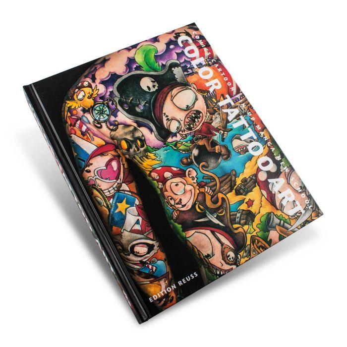Libro Color Tattoo Art: Comics, Cartoon, Pin-Up, Manga + New School - Edition Reuss