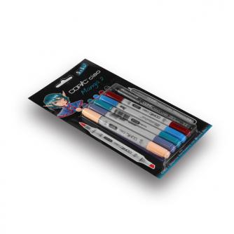Pennarelli Copic CIAO - Manga 2 - Pacco da 5+1