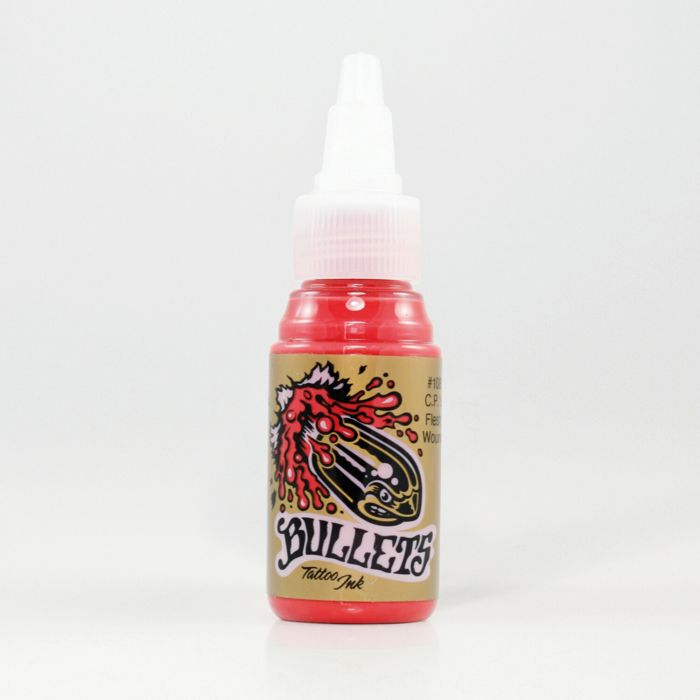 Inchiostro per Tatuaggi Bullets Tattoo Ink C.P.'s Flesh Wound 35ml