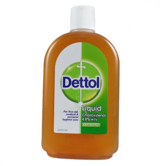 Bottiglia da 500ml di Disinfettante Dettol