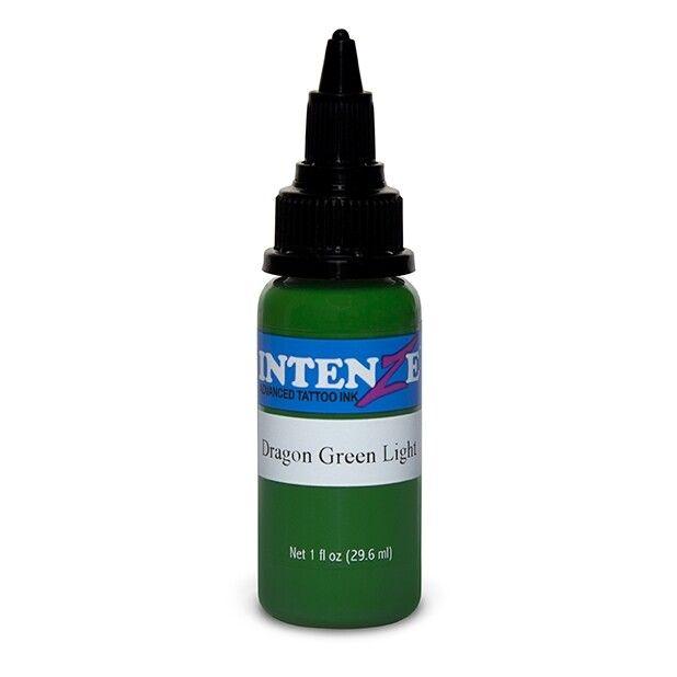 Inchiostro per Tatuaggi Intenze Ink Dragon Green Light 30ml (1oz)