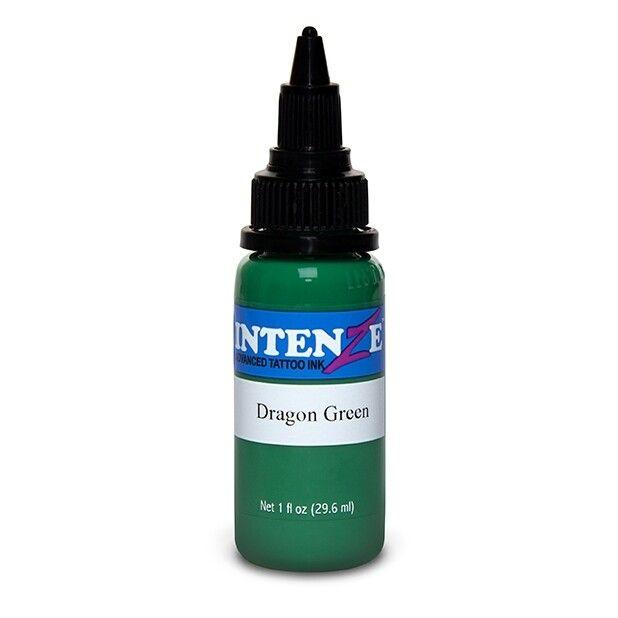 Inchiostro per Tatuaggi Intenze Ink New Original Dragon Green 30ml (1oz)