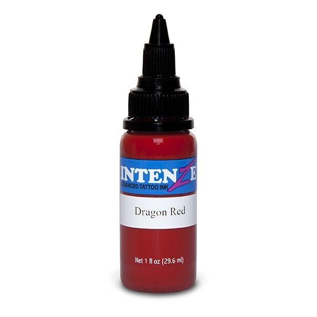 Inchiostro per Tatuaggi Intenze Ink Dragon Red 30ml (1oz)