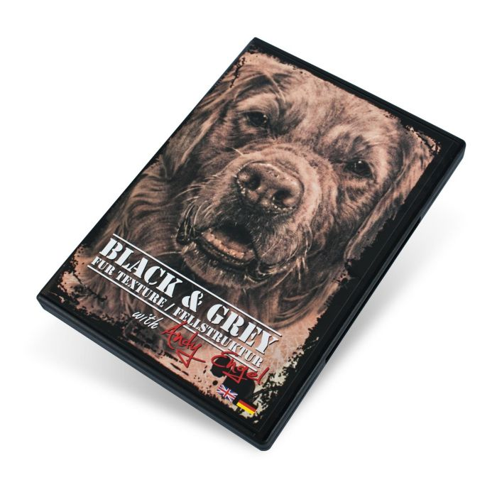 Andy Engel Black & Grey Fur Texture DVD