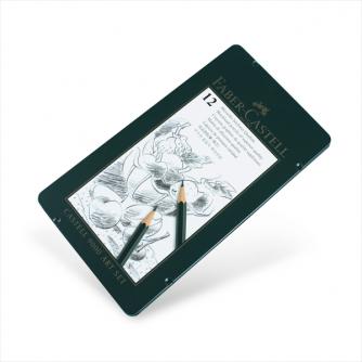 Faber-Castell - Set Arte da 12 Matite Castell 9000