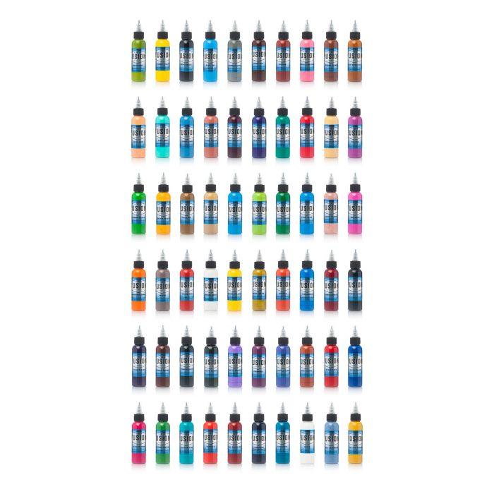Set Completo di 60 Inchiostri Fusion Ink