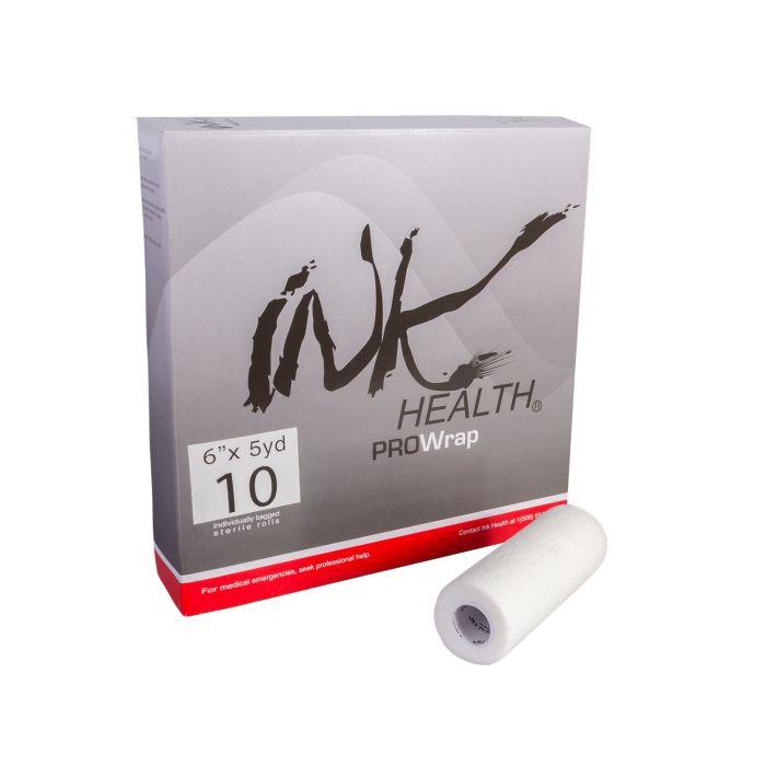 Scatola da 10 Bendaggio INK HEALTH PROWrap Auto-Adesivo 15cm x 450cm