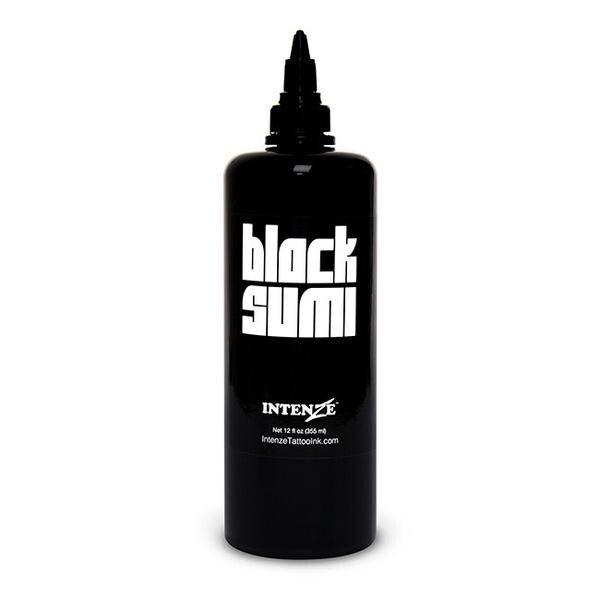 Inchiostro per Tatuaggi Intenze Ink Japaneze Black Sumi 360ml (12oz)