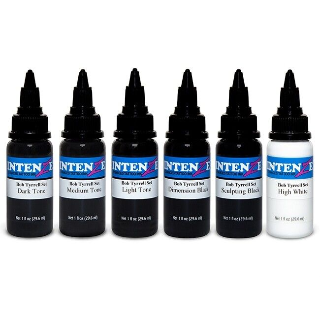 Set Completo di 6 Colori Intenze Bob Tyrell 30ml (1oz)