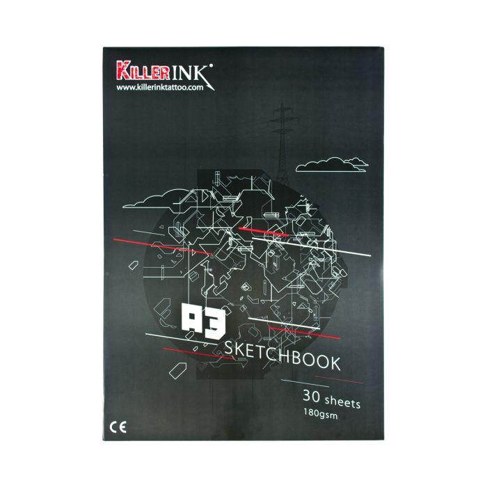 Blocco di Carta Velina Killer Ink 63GSM A3 o A4 (50 Fogli)
