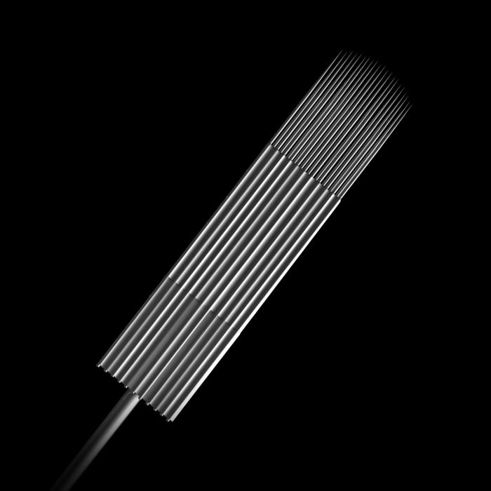 Pacco da 5 Aghi Sterili n.10 0,30MM Killer Ink Precision in Acciaio Inossidabile Curve Magnum