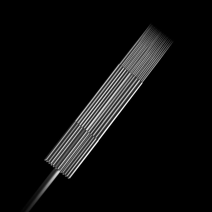 Scatola da 50 Aghi Sterili 0,35MM Killer Ink Precision in Acciaio Inossidabile Flat