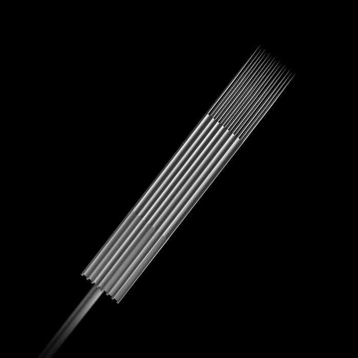 Scatola da 25 Aghi Sterili 0,35MM Killer Ink Precision in Acciaio Inossidabile Magnum Stacked