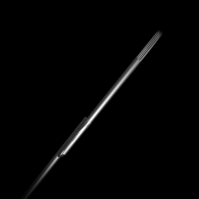 Scatola da 25 Aghi Sterili Bug Pin 0,25MM Killer Ink in Acciaio Inossidabile Round Shader