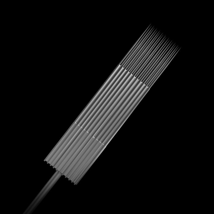 Scatola da 25 Aghi Sterili n.10 0,30MM Killer Ink Precision in Acciaio Inossidabile Magnum Weaved