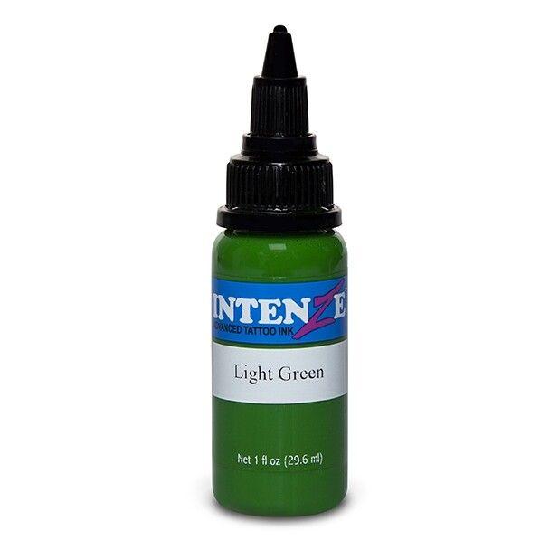 Inchiostro per Tatuaggi Intenze Ink Basic Light Green 30ml (1oz)