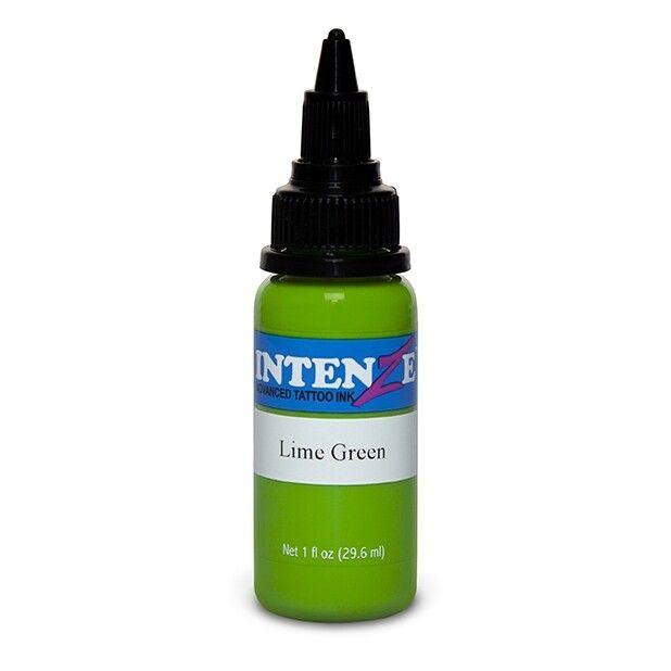 Inchiostro per Tatuaggi Intenze Ink New Original Lime Green 30ml (1oz)