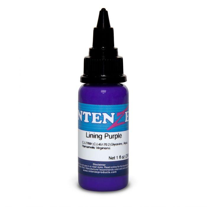 Inchiostro per Tatuaggi Intenze Ink Color Lining Series Lining Purple 30ml (1oz)