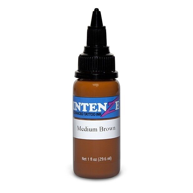 Inchiostro per Tatuaggi Intenze Ink New Original Medium Brown 30ml (1oz)