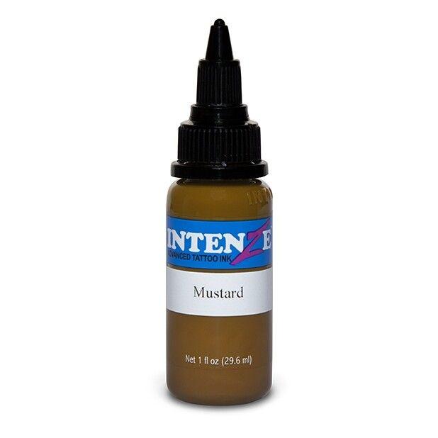 Inchiostro per Tatuaggi Intenze Ink New Original Mustard 30ml (1oz)
