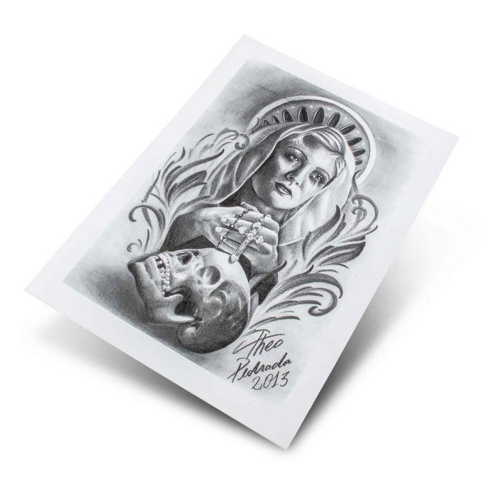 Theo Pedrada - Serie Religiosa 2-13 Serie Flash (5 Fogli)