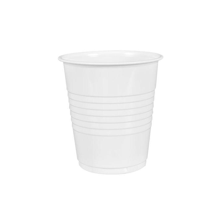 Pacco da 100 Bicchieri di Plastica per Risciacquo / Pulitore Ultrasonico