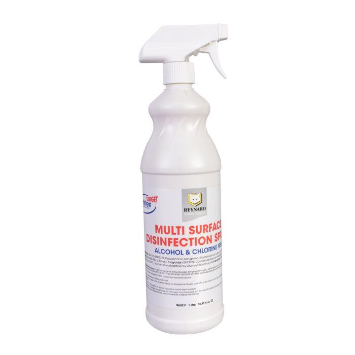Spray Disinfettante Multisuperficie Reynard - Senza Alcohol e Senza Cloro 1L