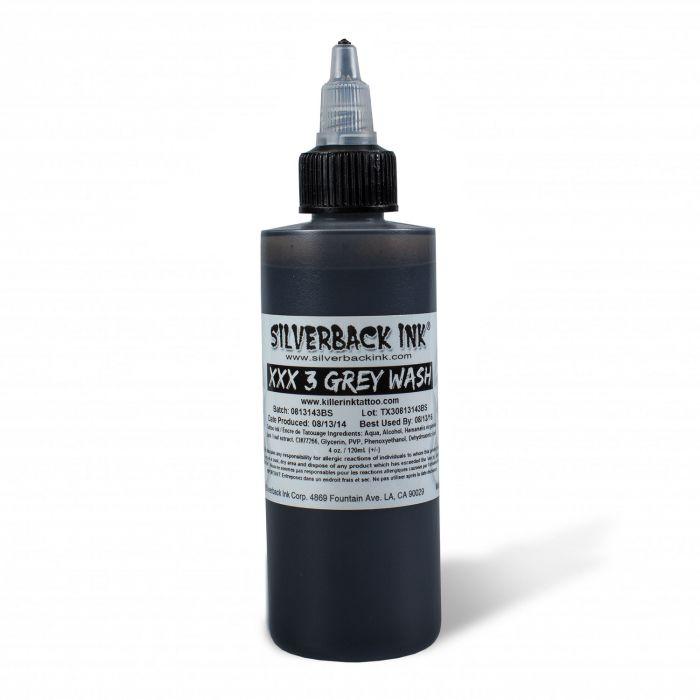 Inchiostro per Tatuaggi Silverback Ink® XXX Greywash 3 120ml (4oz)