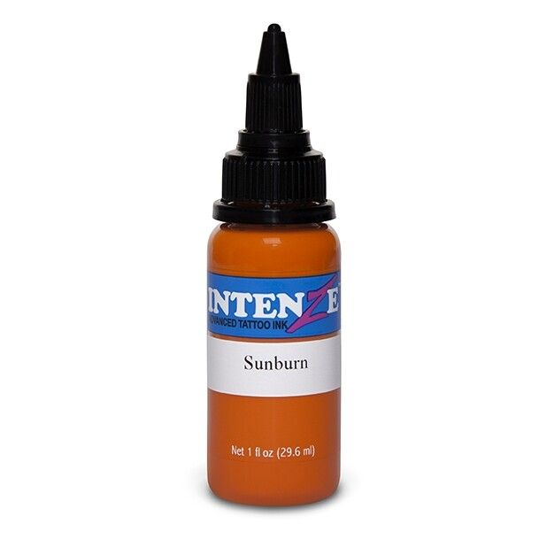Inchiostro per Tatuaggi Intenze Ink New Original Sunburn 30ml (1oz)