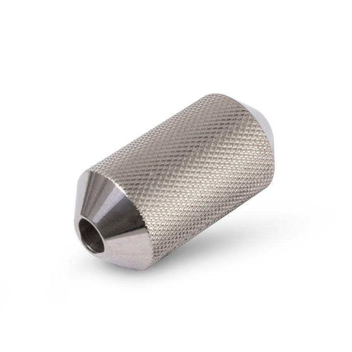 Grip Zigrinato Angolato 25mm in Acciaio Inossidabile 316