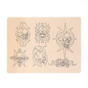 Pelle con Design per Pratica Tatuaggi