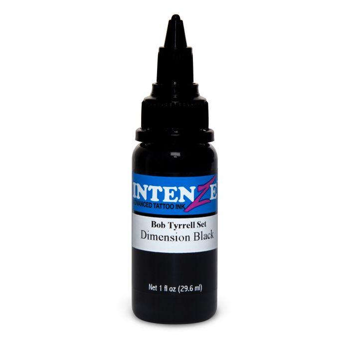 Inchiostro per Tatuaggi Intenze Ink Bob Tyrrell Dimension Black 30ml (1oz)