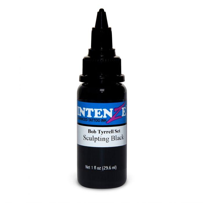 Inchiostro per Tatuaggi Intenze Ink Bob Tyrrell Sculpting Black 30ml (1oz)
